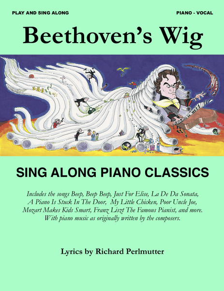cover of Beethoven's Wig Sing Along Piano Classics Songbook