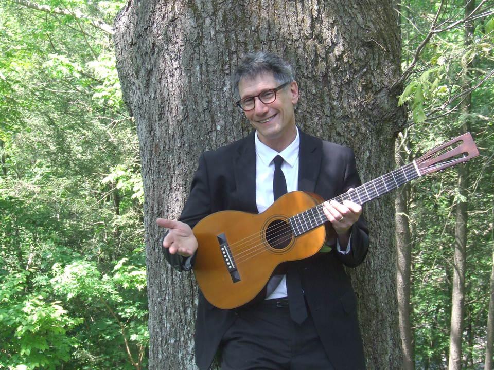 Guitar at the Big Tree